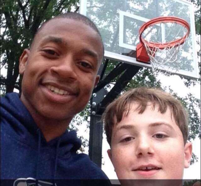 Isaiah Thomas and 14-year-old Robbie McNulty (Photo: Instagram)