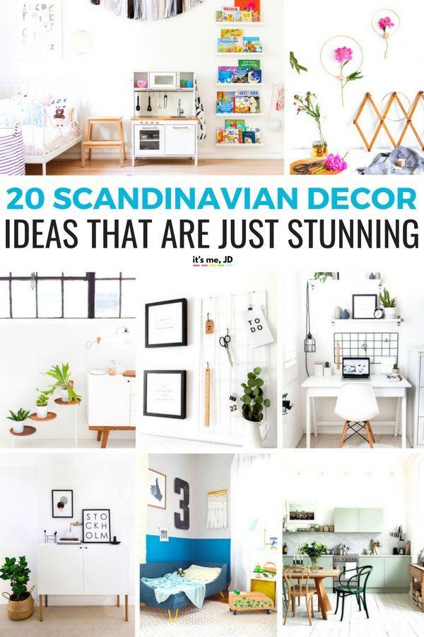 Decor Hacks 20 Gorgeous Scandinavian Decor Ideas Projects Scandinavian Scandinaviandecor Home Diy Diy Home Decor Home Decor