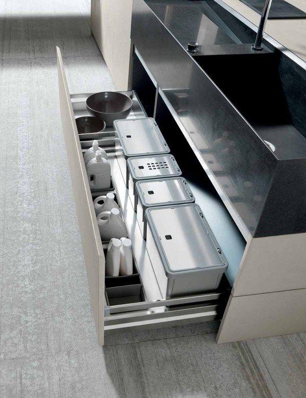 Industrial Chic Twenty Cemento Kitchen from Modulnova