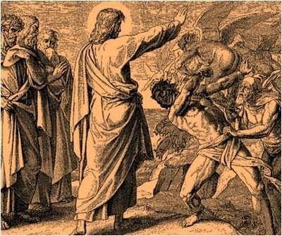 Lectio divina: Lectio divina del 2 de Julio de 2014  Mateo 8, 28-34