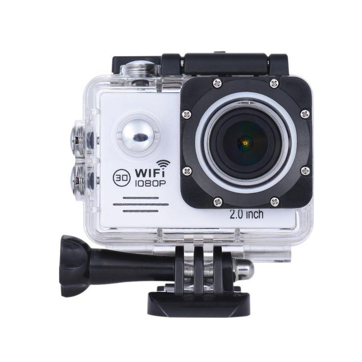 1080P HD 12MP Action Camera Waterproof WiFi Anti Shake Sports Camcorder