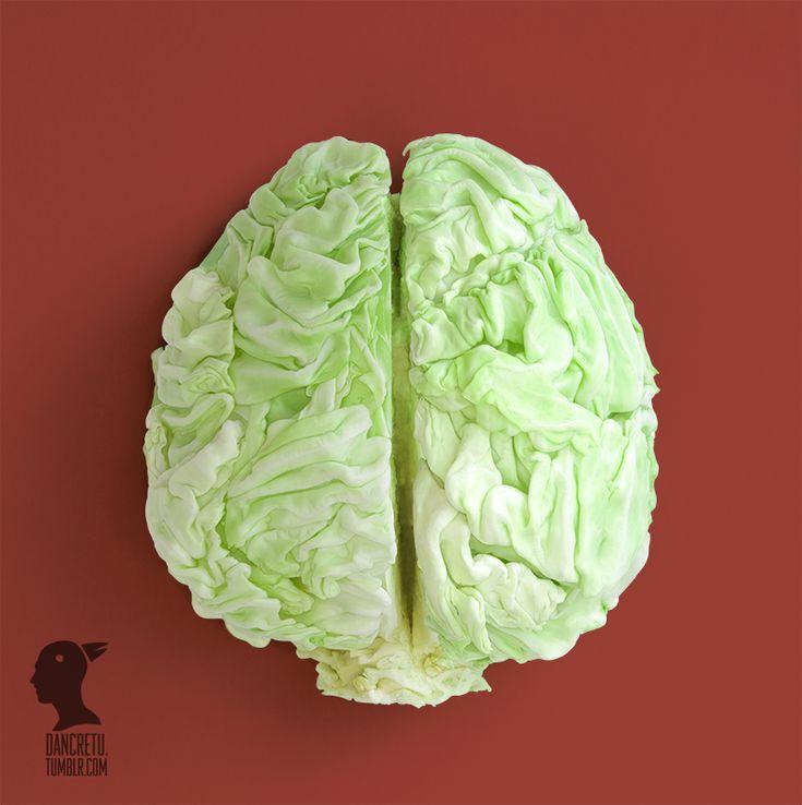 Awesome Food Sculpture by Dan Cretu