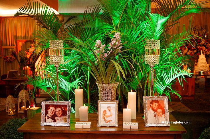 Fotos na Decoração do Casamento
