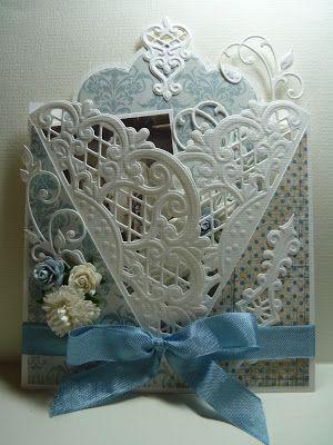 Anja Design - Handmade Card using Marianne Creatables Design Dies LR0269 Anja's Vintage Decoration