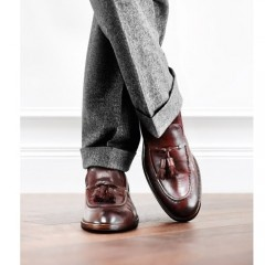 For the Perfect Gentleman - With over 50 years of experienced craftsmanship, Italian based shoe makers Fratelli Rosetti make their mark at Crane Brothers.