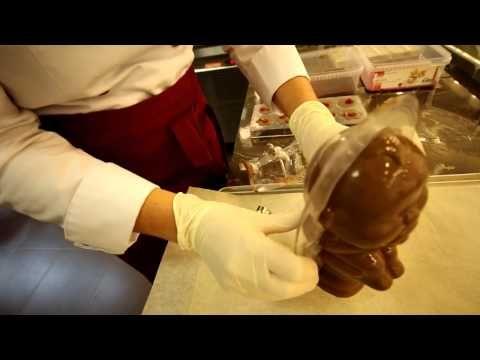 Корпоративные шоколадные подарки от мастера шоколатье Аллы Комиссаровой — Яндекс.Видео