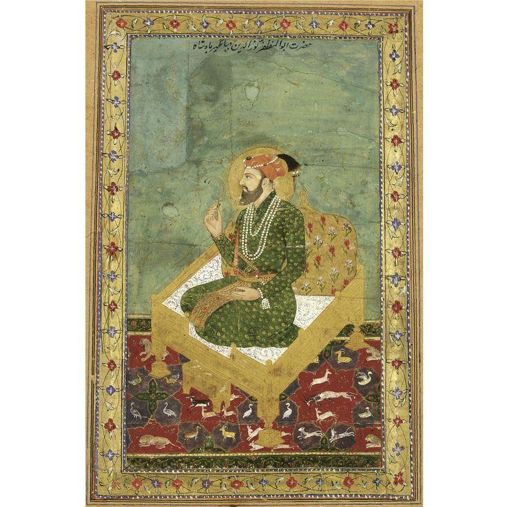 On top says 'Abul Muzaffar Nurudin Jahangir Badshah'