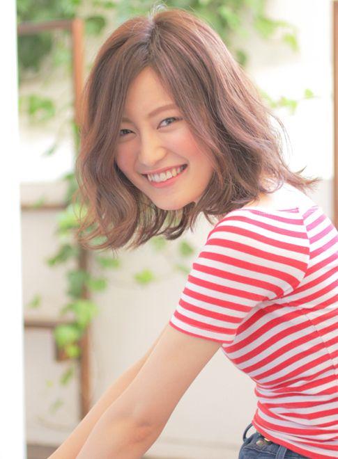 大人可愛ルーズパーマ 【Avenz.foundation】 http://beautynavi.woman.excite.co.jp/salon/19803?pint ≪ #mediumhair #mediumstyle #mediumhairstyle #hairstyle・ミディアム・ヘアスタイル・髪形・髪型≫