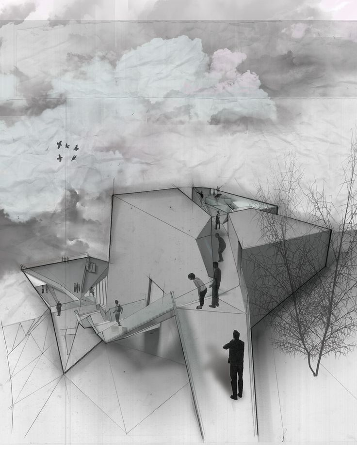Cliffhanger studio at Cornell University, M.Arch | Jerry Lai - Alfred Hitchcock Foundation Archive Cutaway / Digital/Mixed 2009 KRob Finalist