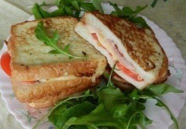 Очень вкусные бутерброды к чаю или кофе