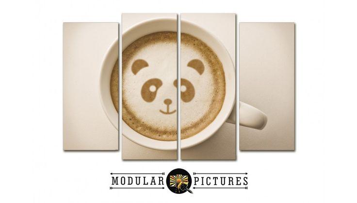 Бодрящий утренний кофе. Картинка отлично впишется в интерьер Вашей кухни. Тем более, изображение можете выбрать абсолютно любое, какое будет Вам по вкусу. Плюс Вы сможете добавить на картину часы, или заказать ее из нескольких частей, на холсте или под стеклом. Звоните +7 (499) 686-10-12 И смотрите все размеры, цены и примеры на нашей сайте http://modular-pictures.ru