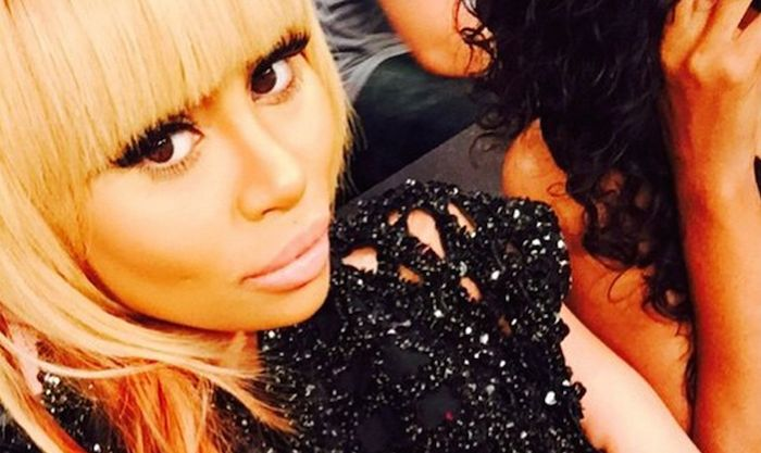 Blac Chyna puts her nipples on display in see-through top (Photos)