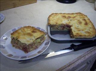 Corned beef and potato pie recipe!