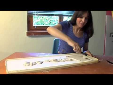 Pannelli decorati con stuccature - Bricoportale - YouTube