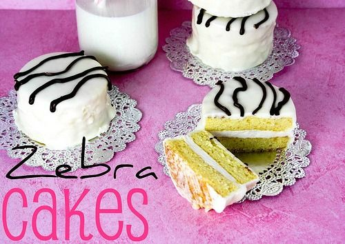 Homemade Zebra Cakes - These are SO easy and so much better than store bought!