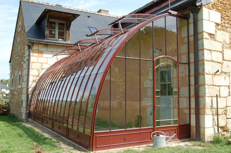 Photogallery of greenhouses manufactured by Serres d'Antan