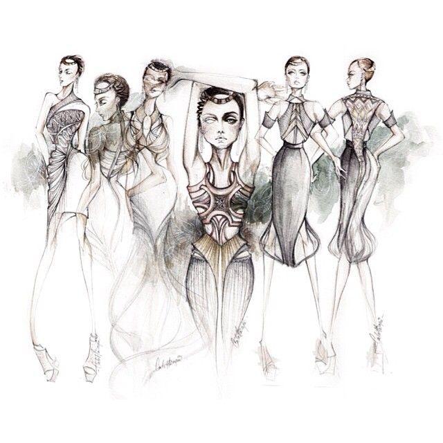 Vox Populi Vox Dei Latepost Fashionillustration Fashiondesign Fashion Illustration Fashion Design Humanoid Sketch