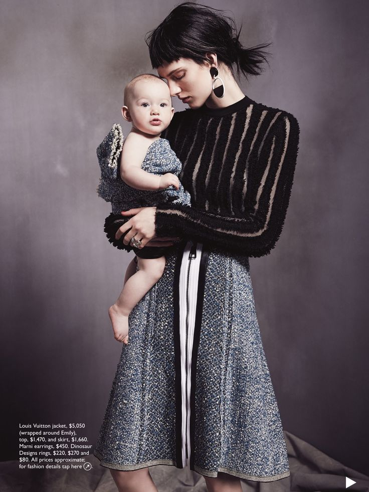 cool Ashleigh Good & Emily are the model family for Vogue Australia August 2015 by Nicole Bentley [Editorial]