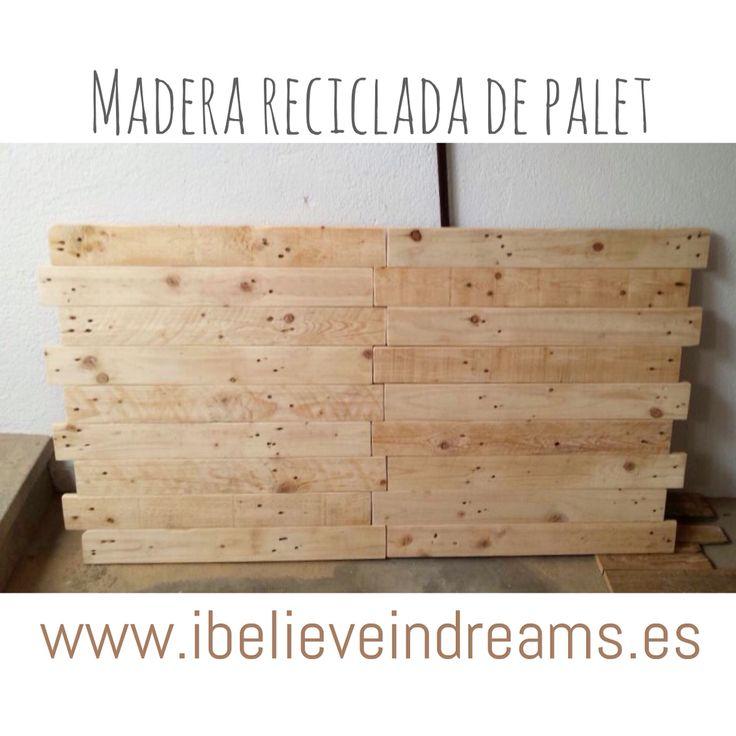 M s de 25 ideas incre bles sobre cabecero de madera - Cabecero madera reciclada ...
