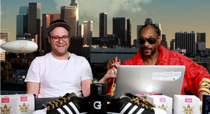 SETH ROGEN BACK ON GGN. Seth Rogen smokes with Snoop Dogg and talks about his new movie, 'Neighbors 2'.