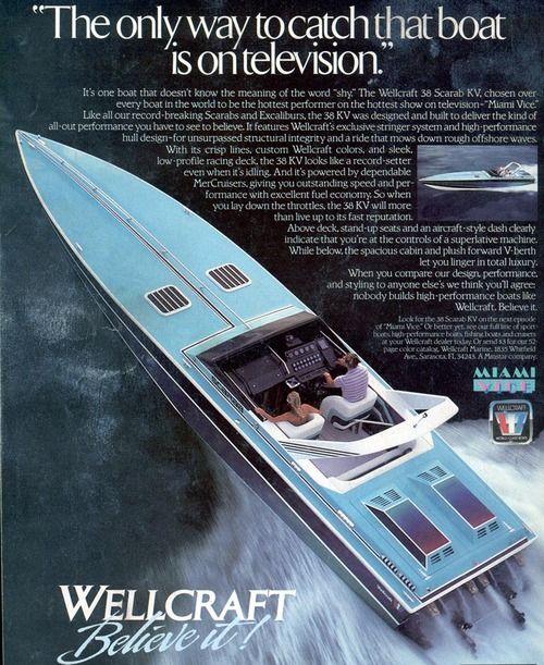 Wellcraft Scarab Miami Vice