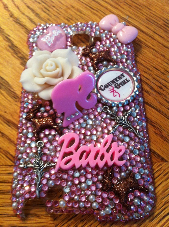 Samsung Galaxy Note N7000 Barbie case  by DazzlingCases on Etsy, $35.00