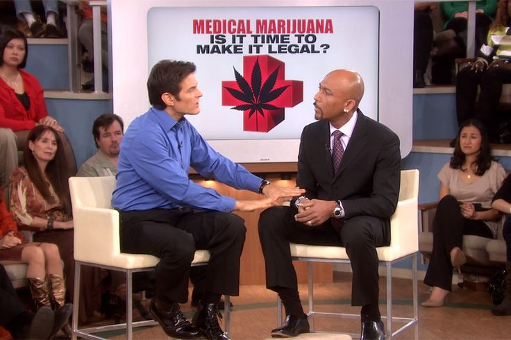 Medical Marijuana: The Hot Debate, Pt 2.  Dr. Oz talks to Montel Williams about how #medicalmarijuana has helped his Multiple Sclerosis.