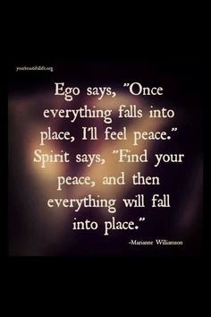 Peace and how to find it. #within