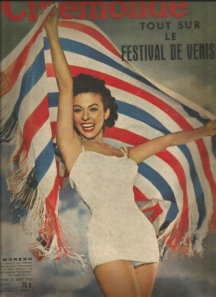 Cinémonde N°1254 1958 Rita Moreno Sophia Loren Jeanne Moreau Doris DAY | eBay