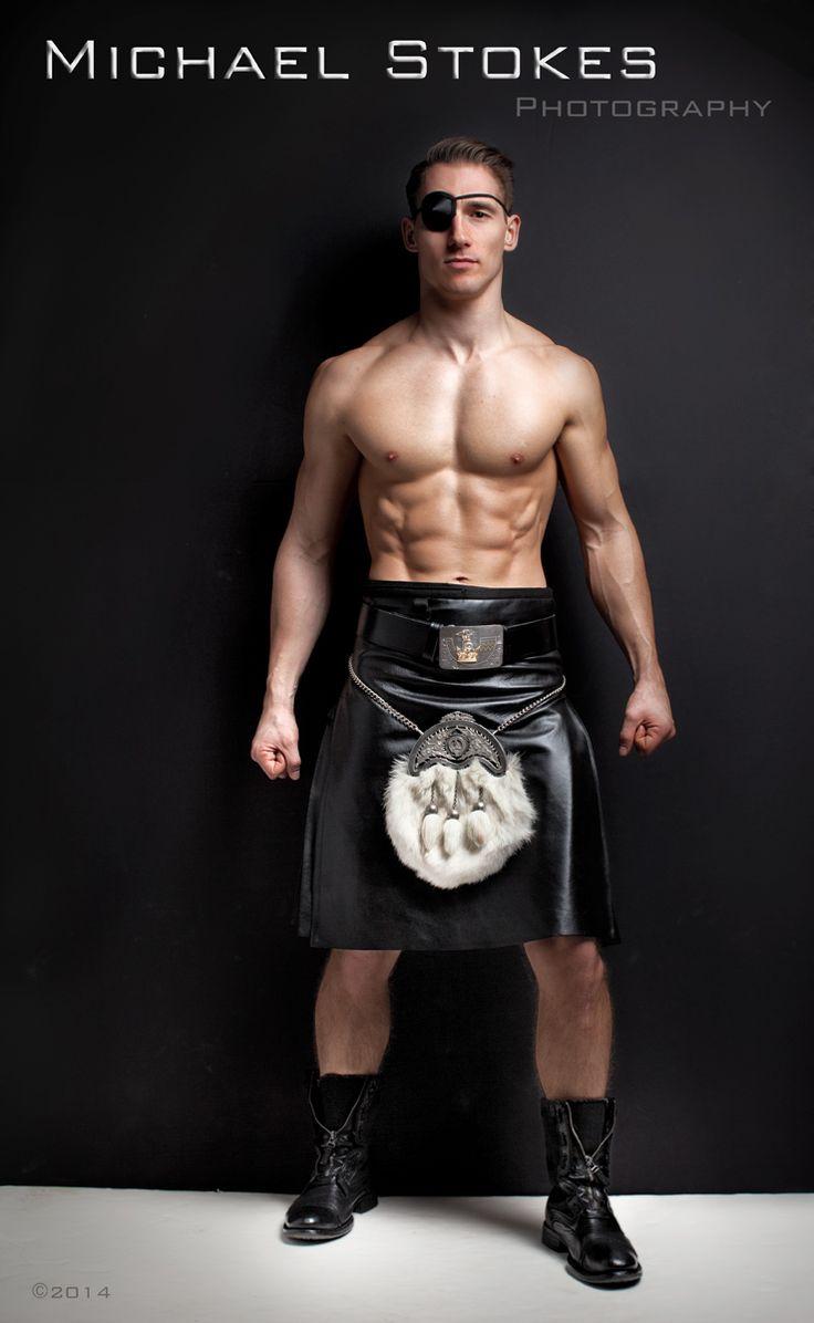 michaelstokes: Scotsman in leather kilt | Kilts ...