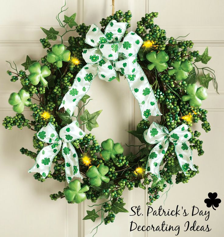 1000 images about st patrick 39 s day decorations on. Black Bedroom Furniture Sets. Home Design Ideas