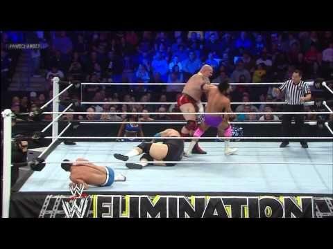 Brodus Clay & Tensai vs. Team Rhodes Scholars: WWE Elimination Chamber Pre-Show