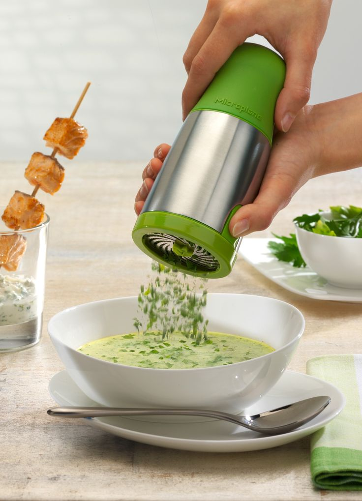 Microplane Herb Mill - 25 Healthy Cooking Gadgets ($25)
