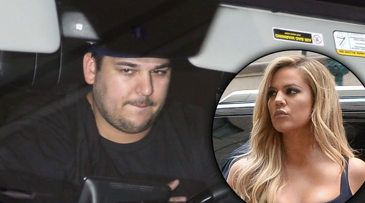 He's Back! Rob Kardashian Seen Driving Khloe's Car As Lamar Odom Returns To LA With Reality Star Ex By His Side