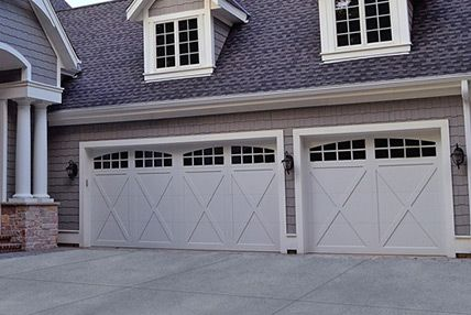 GARAGE DOORS. Carriage House Overlay 5500