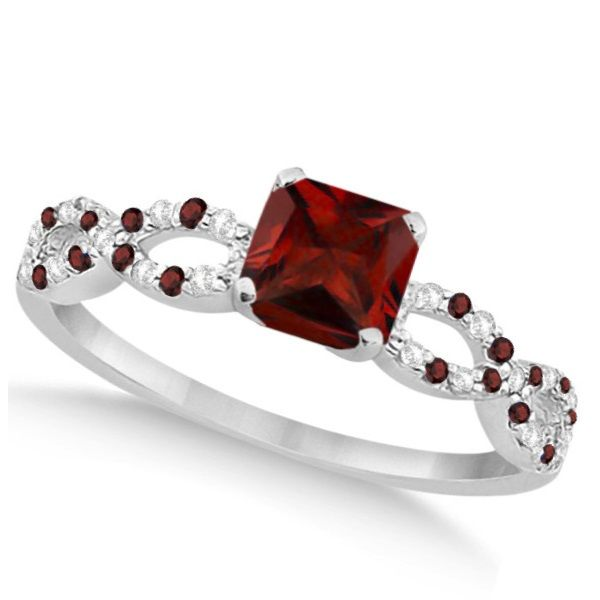 62 best Garnet Engagement Rings images on Pinterest