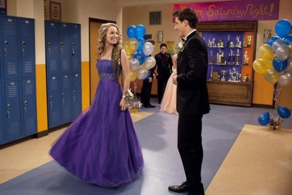 """Teddy and Spencer at the prom together. This episode brainwashes girls, it makes them think that they """"need"""" to have a date to prom in order for their prom to be perfect like Teddy's prom."""