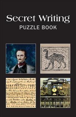 Secret Writing Puzzle Book