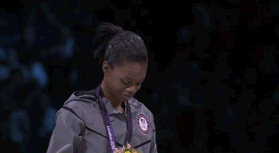 Gold medal for Gabby!