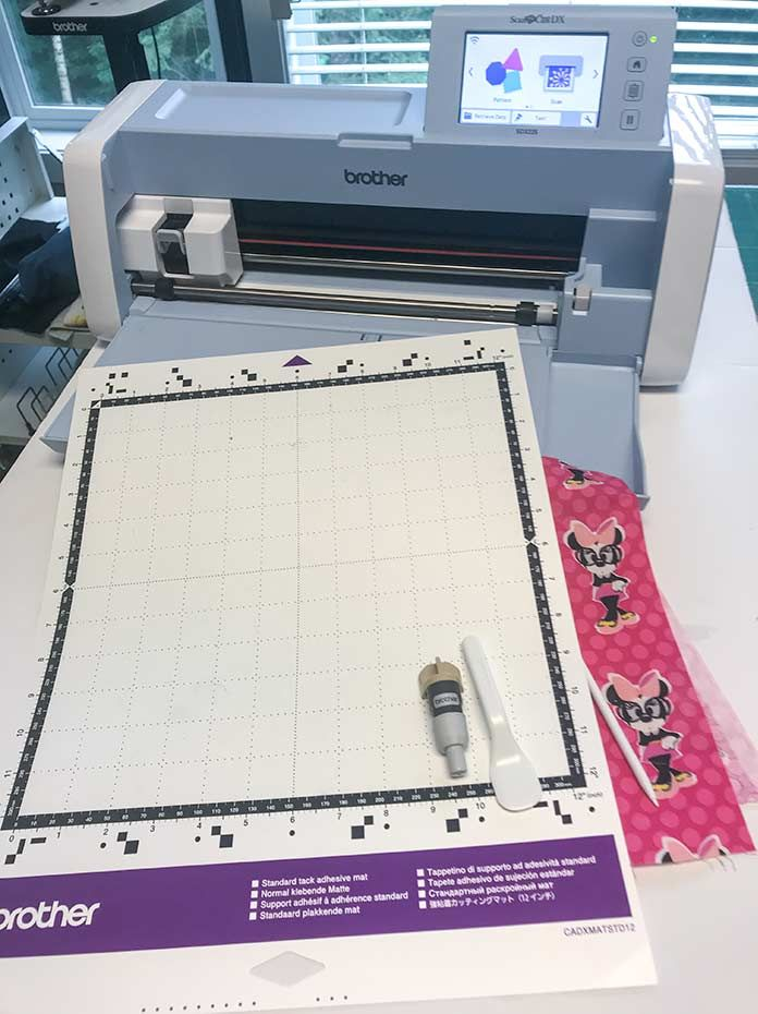 SDX225F Brother Scan N Cut Fabric and Vinyl cutting machine