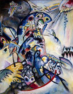 Wassily Kandinsky (Russian, 1866-1944) Bleu Crest 1917