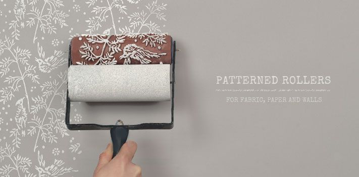 Wall Design Roller : Patterned paint rollers by the painted house home
