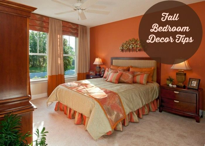 Easy Fall Decorating Tips for your Home | Bedrooms