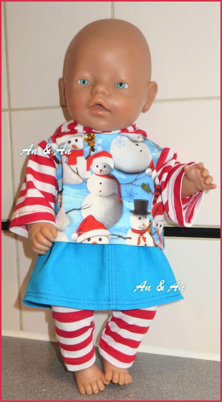 Sneeuwpopsetje. www.poppenmode.com