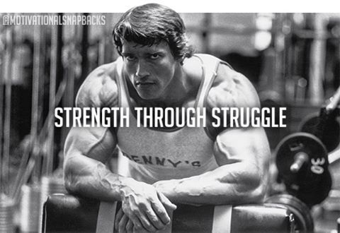 STRENGTH THROUGH STRUGGLE. Too often life throws us curve balls and challenges which we can choose to face or sweep…