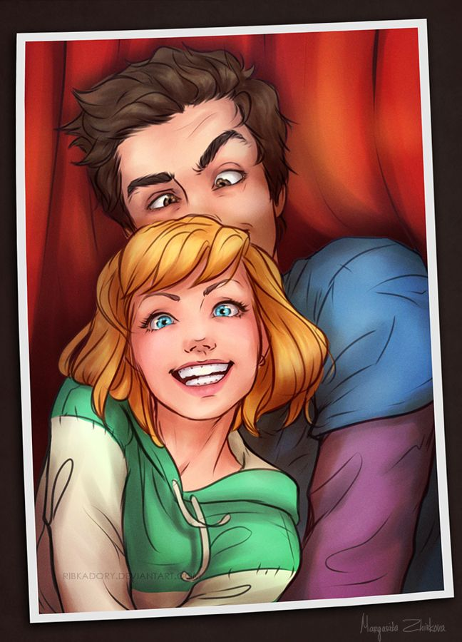 ...like you Let's cry about this together, shall we Yes, Peter dies in that universe -_- On Tumblr -ribkadory.tumblr.com/post/1001… Gwen Stacy as Spider-Woman and Peter Parker belong t...