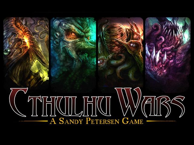 Cthulhu Wars by Sandy Petersen — Kickstarter . If you're a C'thulhu fan, you've GOT to check out this amazing game.