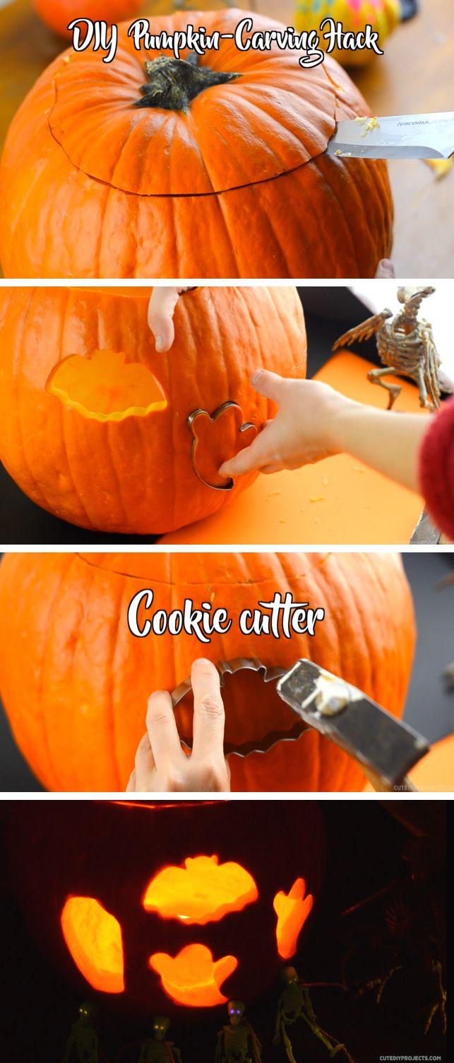 Incredible Pumpkin Carving Hacks You Shouldn't Miss This Halloween #halloween #pumpkin #carving #idea #diy #holiday