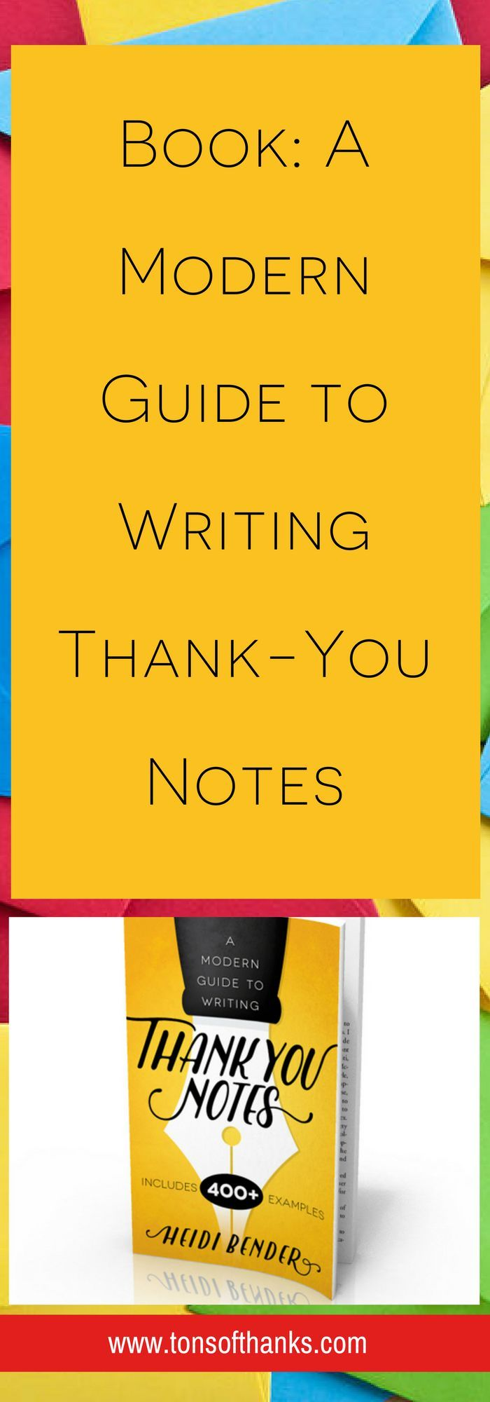 A Modern Guide to Writing Thank-you notes is packed with over 400 examples! Plenty of thank you note wording examples to help you!