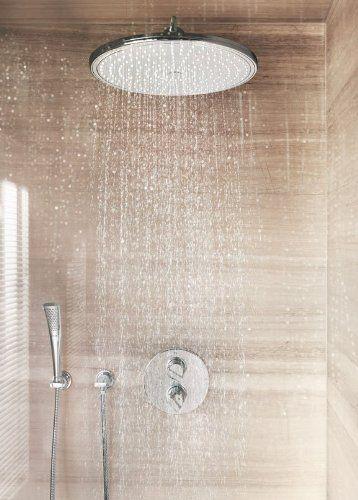 28778000 Тропический душ Grohe Rainshower без держателя, 400*400, хром